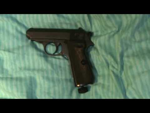Walther PPK/s CO2 - Full Auto BB / Air Pistol