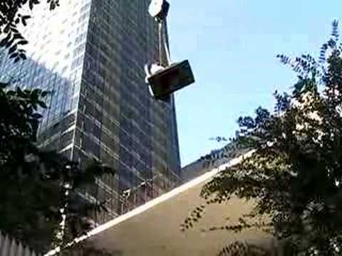 Installation of the Sculpture Garden, MoMA