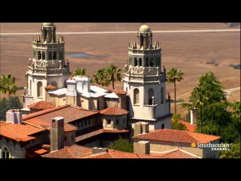Aerial America - Anything but Humble: Hearst Castle