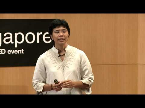 TEDxSingapore - Deborah Peterson - The simplicity of the scared