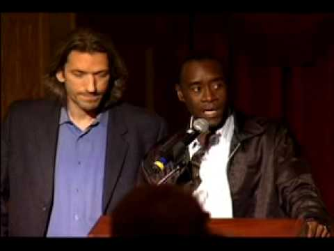 Don Cheadle Discusses Darfur at Enough! Launch Washington DC