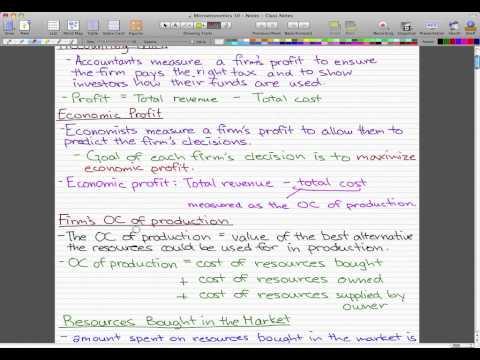 Microeconomics - 105: Firms, Markets, Efficiency, Coordination