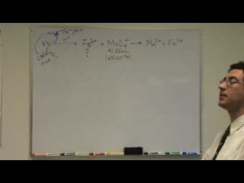 Redox + Titration Part A