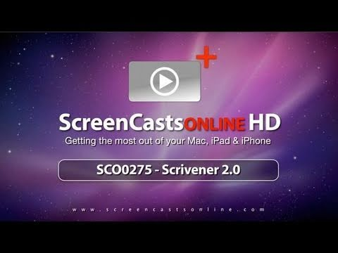 SCO0275 - Scrivener 2.0 - Full Show
