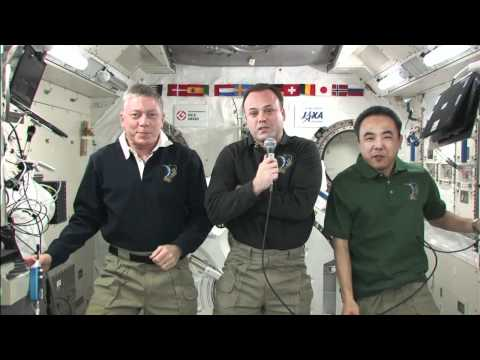 Station Crew Discusses Life in Space with South Dakota Media