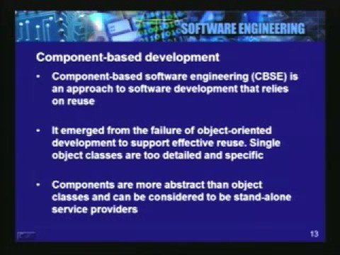 Lecture - 27 Software Reuse