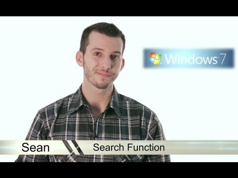 Learn Windows 7 - Search Function