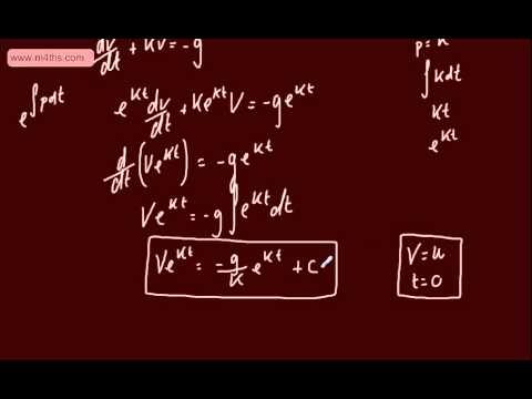 (11) FP2 - First Order Differential equations (Sketching a curve)