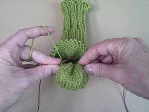 Kelley's Sock Class - Gusset, Part 2