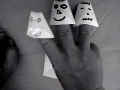 Spooky Finger Puppets