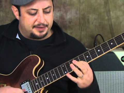 Jazz Guitar Lesson - Chord Voicing