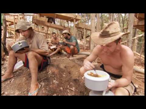 Searching for gold -- Bruce Parry - BBC
