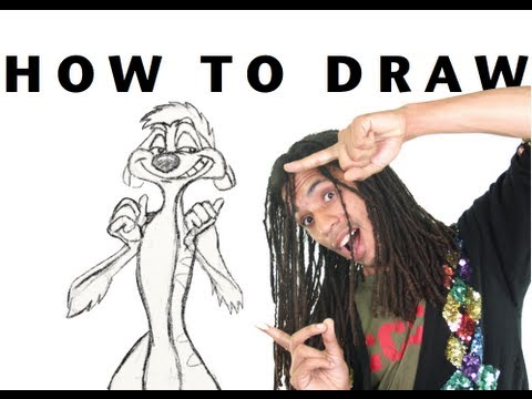How to Draw!: Timon from the Lion King