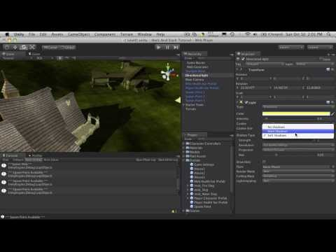 59. Unity3d Tutorial - Building My Starter Town