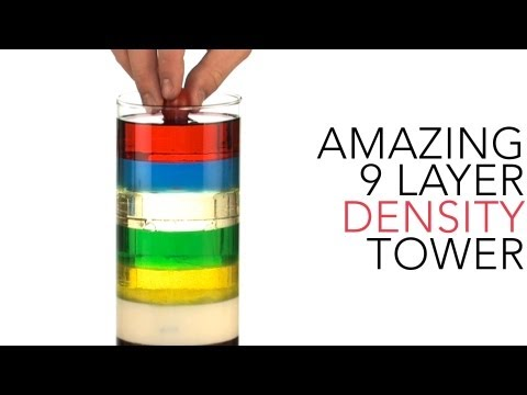 Amazing 9 Layer Density Tower - Sick Science! #013