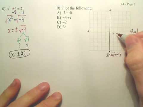 Algebra 2   5.6b
