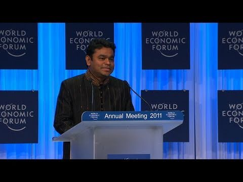 Davos Annual Meeting 2011 - Crystal Award Ceremony