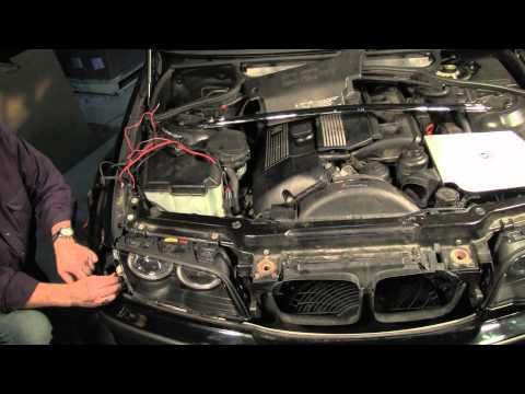 BMW Headlight Replacement and Angel Eyes Upgrade, Part 2 of 2