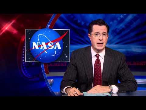 Colbert Needs His Space!