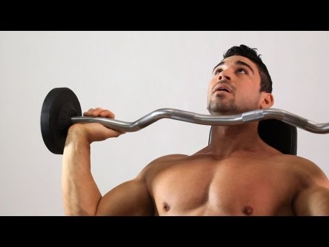Overhead Shoulder Press | Home Arm Workout for Men