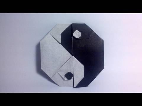 Origami Tai-Chi Symbol (Sy Chen)