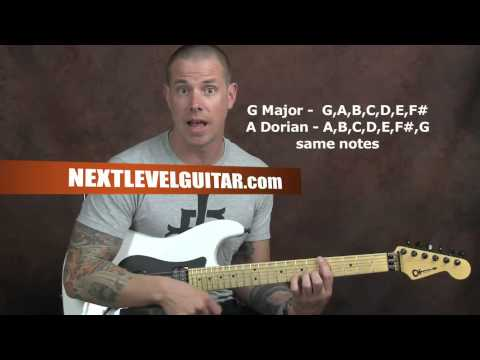 Shred rock guitar soloing lesson six tone scale use and neck coverage exercises with Dave Nassie
