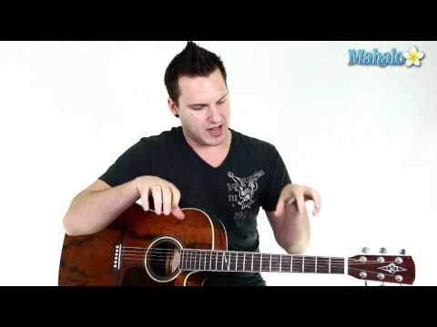 """How to Play """"Boston"""" by Augustana on Guitar (Verse)"""