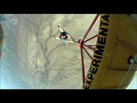Man vs. Wild - Texas - Bi-plane Jump