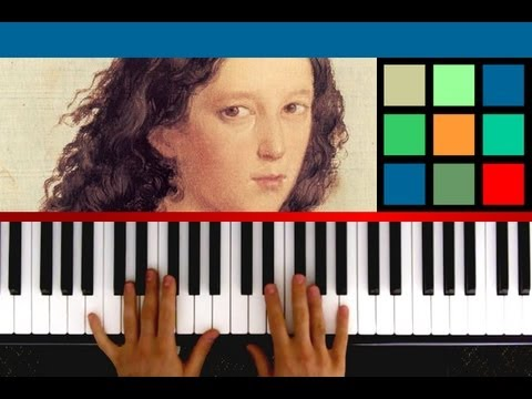 "How To Play ""Hark The Herald Angels Sing"" Piano Tutorial / Sheet Music (Felix Mendelssohn)"