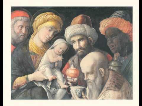 Adoration of the Magi, Andrea Mantegna