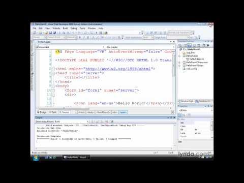 ASP.NET: Understanding the development web server | lynda.com