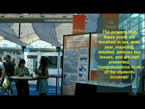 The Youth and Community Exhibit at the Esri International GIS User Conference