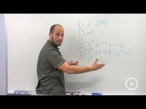 Algebra 2 - Powers of i