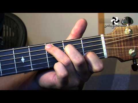Happy Birthday Fingerstyle (Easy Songs Folk Guitar Lesson FO-105) How to play