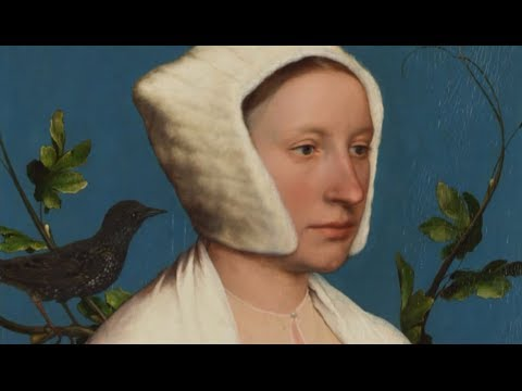 Hans Holbein the Younger: ' Lady with Squirrel and Starling' | Paintings | National Gallery, London