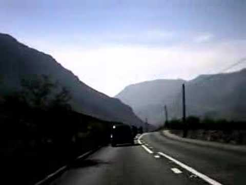 Motorcycle camera  - Raw footage 1/2