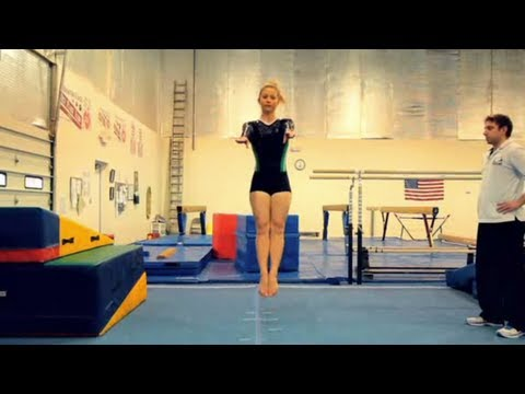 Gymnastics: How to Stick a Gymnastics Landing