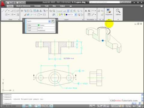 AutoCAD Tutorial - How to Change Object Properties