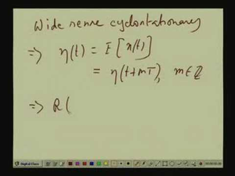 Lecture - 31 Cyclostationary Processes