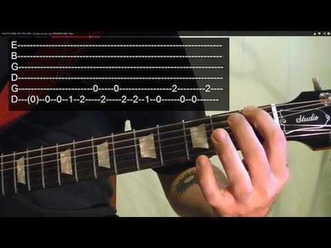 EASY!! COME AS YOU ARE ( Guitar Lesson ) by NIRVANA With Tabs