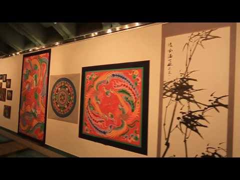 Art gallery inside the Gyeongbok Palace subway station - Seoul Korea - Hyunwoo Sun