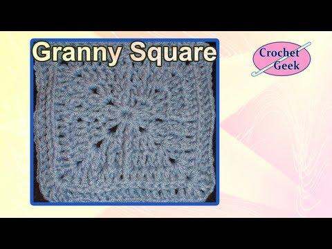 Crochet Geek - Jacmel Crochet Granny Square