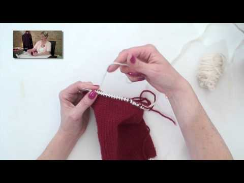 Learn to Knit a Christmas Stocking - Part 2