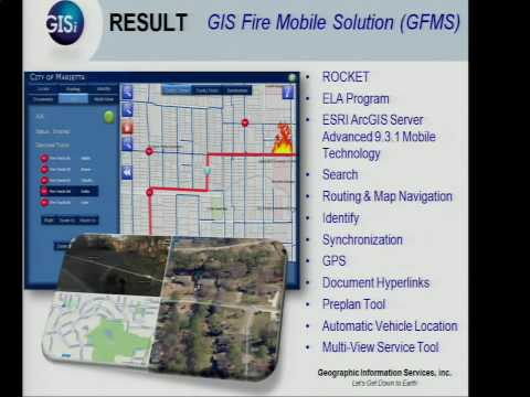 GIS Fire Mobile Solution