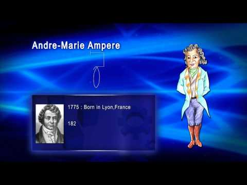 Top 100 Greatest Scientist in History For Kids(Preschool) - ANDREW MARIE AMPERE