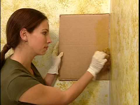 How To Paint Using Sponging Techniques - The Home Depot