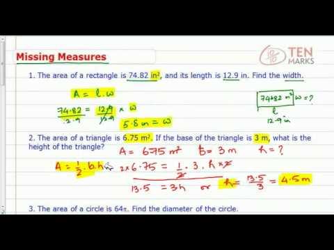 Find Missing Measures