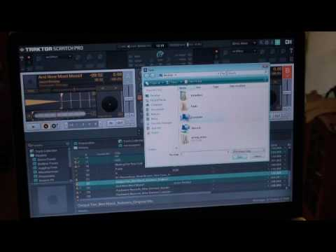 Traktor Scratch pro. Video 11 Art work / cover import