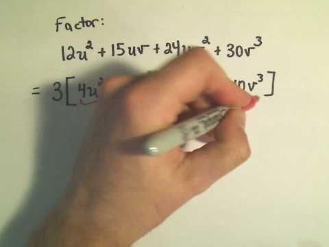 Factoring By Grouping - Ex 2