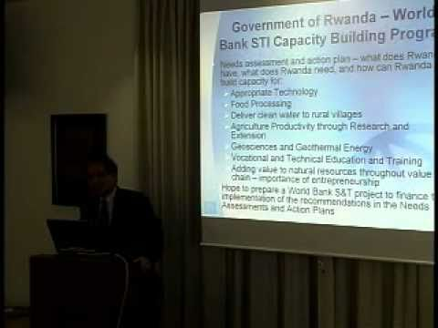 The World Bank on Science and Technology for Development:  The Case of Rwanda